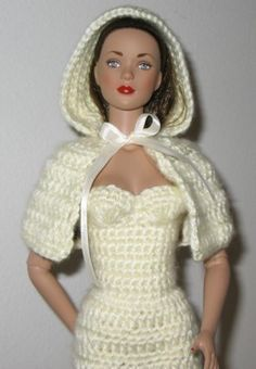 Hooded Cloak Crochet Pattern for 11.5 inch or 16 by Livingwater