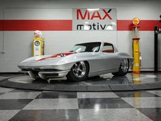 Chevy, Chevrolet, Classic Corvette, Corvettes, Muscle Cars, Hot Rods, American, Street, Vehicles