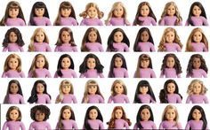 ALL AMERICAN GIRL TRULY ME DOLLS NUMBERED! - YouTube