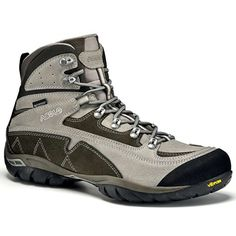 Asolo Zion WP Boot - Men's Light Grey / Smoky Brown 10 >>> Click affiliate link Amazon.com on image for more details.