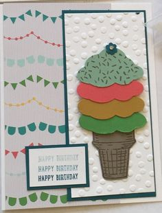 New Stampin' Up! In Colors. Sprinkles of Life and Tree Builder Punch