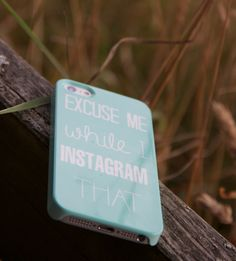 This phone case is perfect for all the Instagram addicts out there. This definitely applies to the Bramble and Bracken team who are very guilty of the occasional breakfast shot! Available in black and white and mint and white and for both iPhone 4