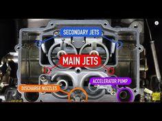 Edelbrock Quicksilver Carburetor Diagram True Refrigeration Wiring 538 Best Automotive Images Rolling Carts Engine Motors How To Tune Carb Idle Mixture Screws Choke Metering Rods Jets Fuel Air Vacuum
