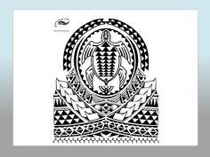 PolynesianStyleTattoo.com Honu shoulder design