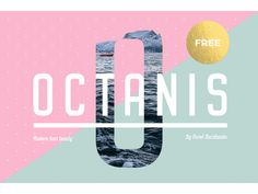 Octanis: A full and free font-family ideal for headlines...