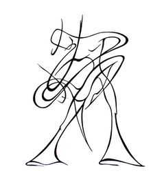abstract woman drawing - Google Search