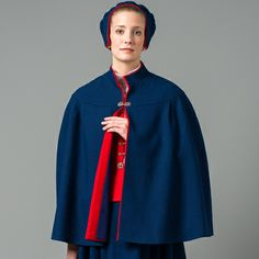 Cape Cape, Costumes, Traditional, Dresses, Fashion, Mantle, Vestidos, Moda, Cabo