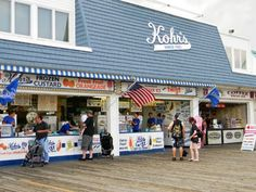 On the Boardwalk at Point Pleasant Beach
