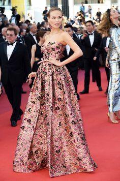 Best Dressed: Natasha Polly in Prada at Cannes 2016.