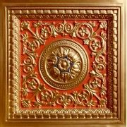 """Drop In, PVC Faux Tin Tiles, to decorate your ceiling Model #VC02 Gold-Red-Royalblue Size: 23 3/4"""" X 23 3/4"""" Price: 10.99 USD http://www.talissadecor.com/catalog/drop-in-ceiling-tiles/antique-tin-drop-tile"""