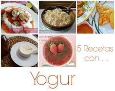 Para estar por casa: 5 Recetas con yogur