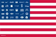The United Corporations of America. Fascism and Corporatism, under God, for profit and unlimited market expansion.