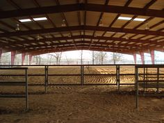 I like the simple covered arena. If I can have only one arena, it will be an outdoor covered. Simple steel pipe, no exposed insulation for birds to nest in. Skylights, as well as electric lights.