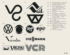 Eric Carl Collection of vintage logos from a edition of the book World of Logotypes jpg Logos Corporate Logo Design, Modern Logo Design, Vintage Logo Design, Vintage Logos, Graphic Design, Trademark Symbol, Logo Luxury, Brand Symbols, Organic Logo