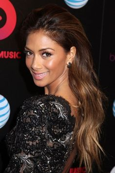 The Hottest Long Hairstyles & Haircuts For 2014 - Nicole Scherzinger
