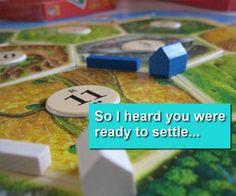 Settlers Of Catan pick-up lines