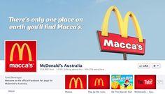 brandchannel: McDonald's Appeals to Aussie Pride With Macca's Rebrand in Australia