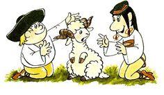 Kubko a Maťko, Marianna Grznárová, ilustrácie Ladislav Čapek My Friends Mom, Folklore, Disney Characters, Fictional Characters, Nostalgia, Childhood, Homeland, Cartoons, Illustrations