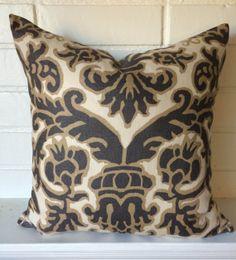 Pomegranate design by David Hicks  accent pillow cover throw pillow designer pillow