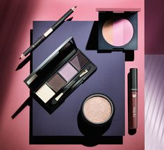 Lavender, plum and berry – the three shades of Dr. Hauschka's new look: 'welcome back'.