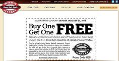 Boston Market coupons & Boston Market promo code inside The Coupons App. Second chicken carver or salad bowl free at Boston Market April Kfc Coupons, Free Coupons Online, Free Printable Coupons, Love Coupons, Shopping Coupons, Grocery Coupons, Free Printables, Shopping Deals, Boston Market