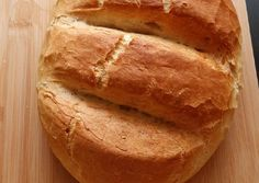 Ropogós kenyér | Habán Béláné (Zümi) receptje - Cookpad receptek Bread, Food, Brot, Essen, Baking, Meals, Breads, Buns, Yemek
