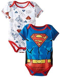 Warner Brothers Baby Baby-Boys Newborn Superman 2 Pack Bodysuit Set with Muscles, Blue, 0-3 Months Warner Brothers Baby http://www.amazon.com/dp/B00K8U5Z3O/ref=cm_sw_r_pi_dp_JL7Cub07FYAJ8