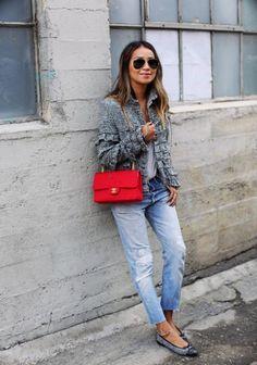 El mes en 31 looks: Chaqueta Chanel