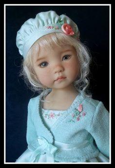 "Silken Spring Outfit for 13"" Effner Little Darling by VSO | eBay Sold for $122.38 on 3/7/13."