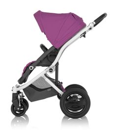 100% Playful - Britax Affinity Stroller in Cool Berry #baby #style