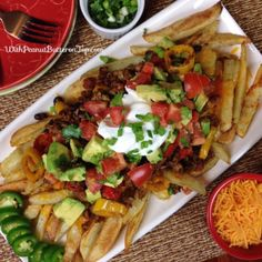 Loaded Chili Cheese Fries