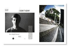 I don't kehr - Alex Schulz Portrait   Monster Skateboard Magazin #337