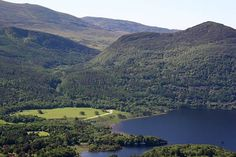 Killarney National Park, Muckross Lake with Torc and Mangerton Mountains in the background.