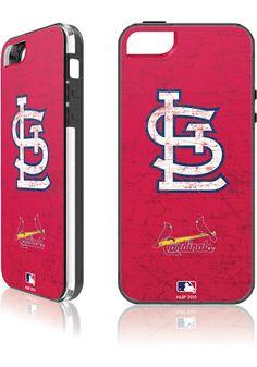 St. Louis (STL) Cardinals iPhone 5 Case http://www.rallyhouse.com/shop/st-louis-cardinals-st-louis-cardinals-iphone-5-case-9600087?utm_source=pinterest&utm_medium=social&utm_campaign=Pinterest-STLCardinals $27.99
