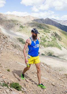 Rob Krar, 2014 Leadville Trail 100 champion. (Credit: Life TIme Fitness)