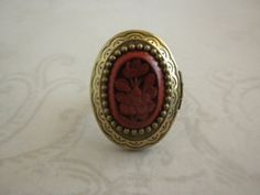 Ring of the Red Camilia is a Chinese Poison ring by TheQuietbee, $23.00