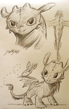 awww baby toothless <3