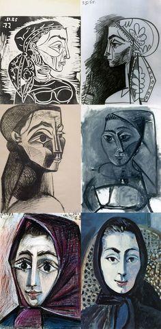 Arte,Pinturas,Pro dia nascer melhor,Blog do Mesquita,Picasso,Retratos,François Gilot XI www.mesquita.blog.br www.facebook.com/mesquita/fanpage