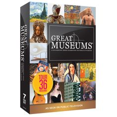 $79.99 - Our new seven-disc DVD set that explores 36 different museums!