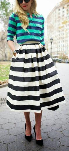 Stripes on Stripes // Atlantic- Pacific