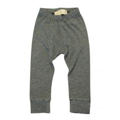 Go Gently Baby Navy/Gray Striped Pencil Pant