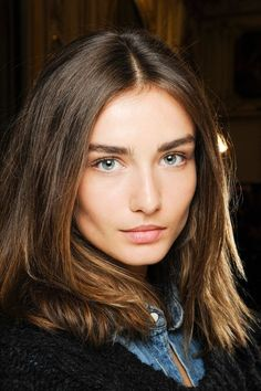 A clean bold brow and natural makeup goes to show that #simplicity is #beautiful.