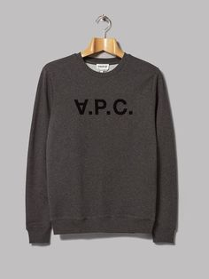 A.P.C. HIVER 87 Sweat VPC (Anthracite Chine)