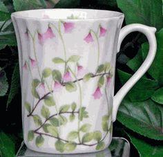 Another delicately wrought bit of art. Linnea Fine Bone China mug