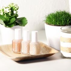 essie neutrals creat