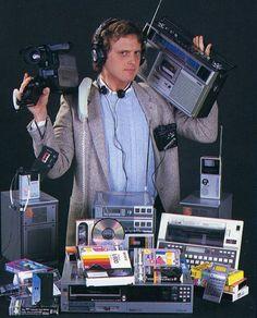 Anos 80 - hoje tudo isso está no smartphone!