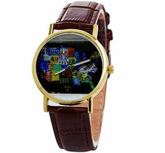 Emporia armani watch rose gold plated armani watches conditioner united states watch world map watches leather strap the best christmas gift us map wristwatch quartz gumiabroncs Images