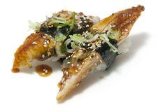 Niguiri Anguila. Kimoshi restaurante Japonés en Alicante.