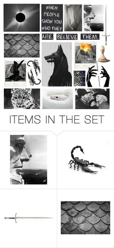 """""""Believe Them"""" by deepwinter ❤ liked on Polyvore featuring art"""