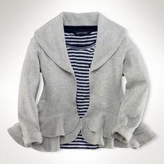 Shawl Fleece Jacket Ralph Lauren